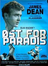 EAST OF EDEN 1955 James Dean ELIA KAZAN John Steinbeck DANISH POSTER