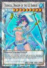 Trishula, Dragon of the Ice Barrier Yu-Gi-Oh! Super Rare Sexy Proxy Orica