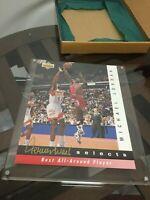 1992-93 UPPER DECK Jerry West Selects MICHAEL JORDAN 11 X 8 Jumbo Card #JW8 #39