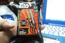 Star Wars Action Lite Lightsaber Collect All 3 Colors Vary