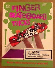 Mini Maestro Finger Skateboard Tricks Master Radical Maneuvers in Miniature