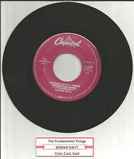 BONNIE RAITT Fundamental things REMIX w/UNRELEASED TRK JUKEBOX ONLY 7 INCH Vinyl