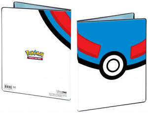 4-Pocket Great Ball Pokeball Pokemon 80-Card A5 Album Portfolio Storage Folder