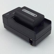 Battery&Charger for SONY Handycam DCR-HC20 DCR-HC21 DCR-HC26 DCR-HC28 Camcorder