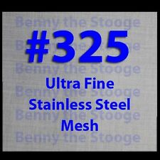 Twill Stainless Steel Wire Mesh, #325 Ultra Fine Mesh / Butane Extractor / ISO