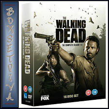 THE WALKING DEAD - COMPLETE SEASONS 1 2 3 & 4 **BRAND NEW DVD BOXSET ***