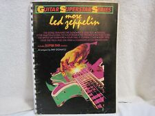 "1988 ""More Led Zeppelin"" Guitar Superstar Series Donato Songbook Tab Spiral Rare"
