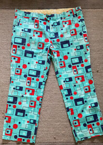 Loudmouth 8 TRACK Golf Trousers - 40/29in