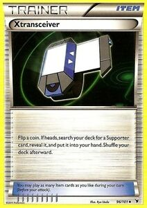 BW NOBLE VICTORIES POKEMON TRAINER CARD - XTRANSCEIVER 96/101