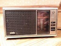 Vintage GE Radio AM/FM Transistor Radio WORKS
