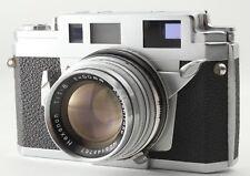 N MINT Konica IIIA III A Rangefinder Fillm Camera Hexanon 50mm F/1.8 from japan