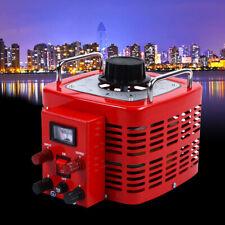 Adjustable Variac Regulator Transformer Ac Power 3kva 130v 30amp Metered Usa New