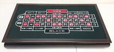 Restoration Hardware Rake It In Casino Night Party Roulette/Blackjack/Craps box