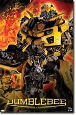 2011 HASBRO TRANSFORMERS 3 MOVIE BUMBLEBEE POSTER 22x34 NEW FREE SHIPPING