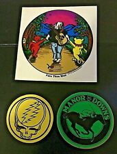 Grateful Dead Jerry Garcia Fare Thee Well Sticker +Manor Downs +Steal your Face