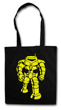 THE BIG THE ROBOT BANG THEORY Hipster Shopping Cotton Bag - Sheldon Nerd Manbot