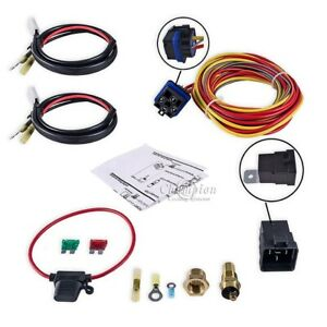 Champion Waterproof Thermostat and Relay Kit for Single or Dual Fans 185°  170°