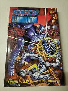 Robocop Versus Terminator by Frank Miller Dark Horse Books HC 2014 Graphic Novel