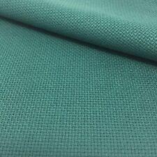 Tela para Punto de Cruz | 75cm x 50cm | 14 cuentas | 100% algodón | Verde Oscuro