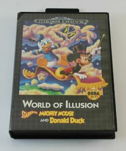 World of Illusion starring Mickey and Donald (Megadrive)