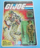 1984 GI Joe Recondo Figure Complete Sealed MOC *CUSTOM* Full File Card Back READ