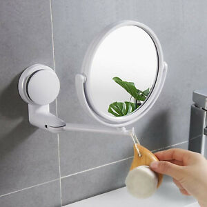 Wall Mount Makeup Mirror 6-Inch One/Two-Sided Extendable Bathroom Vanity Extend