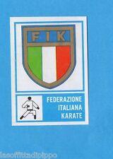 CAMPIONI dello SPORT 1973/74-Figurina n.377- KARATE - STEMMA -Rec