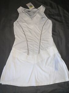 NWT AUTHENTIC WOMEN'S NIKE FITDRY TENNIS TUNIC DRESS SIZE SMALL
