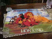 "Walt Disney's The Lion King - Happy Holidays Poster  17"" x 22""  Poster #6"