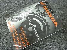 2003 Honda GL1500C GL1500CT GL1500CF Valkyrie Motorcycle Service Repair Manual