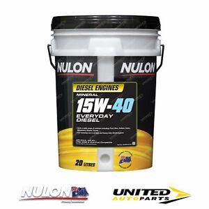 NULON Mineral 15W-40 Everyday Diesel Engine Oil 20L for MERCEDES-BENZ 190D 2.5
