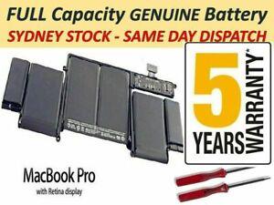 """A1493 A1502 Battery For Macbook Pro 13"""" Retina 2013 & 2014 + Tools"""