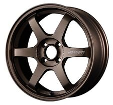 RAYS TE37 SONIC Bronze 6.5J-15 +45 4x100 wheels set of 4 rims from JAPAN