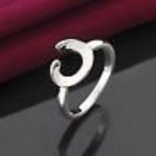 NEW STYLE SIMPLE C-TYPE JEWELRY 925 STERLING SILVER-PLATED WOMENS RING US SIZE 7