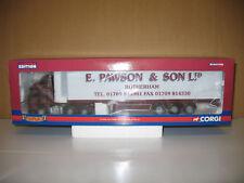 Corgi 1/50 scale CC13506 - Volvo FM Box Trailer - E PAWSON & SON LTD