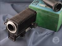 Russian Macro Close Up Bellows Unit NPNCTABKA inc Attachments - 9476
