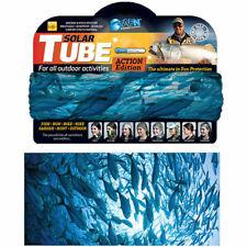 AFN UV40+ Fishing Solar Tube Sun Buffer Neck Gaiter - Blue
