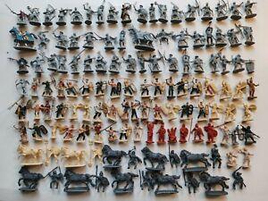 Lot soldats esci italeri zvezda moyen âge antiquité figurines 1/72