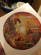 The Incredibles 2 (Blu-ray)Movie Disc Only! Nothing Else!Read.