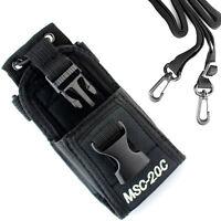 MSC-20C Multi-function Nylon Case Bag for Kenwood Motorola Two-way Radio