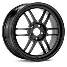 "ENKEI RPF1 16x7"" Racing Wheel Wheels 4x100 ET43 F1 BLACK"