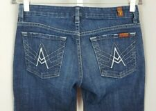 Seven 7 for all mankind A Pocket Women's Stretch Denim Jeans Boot Cut Size 27