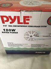 pyle speaker 100 W rated power stereo speaker system