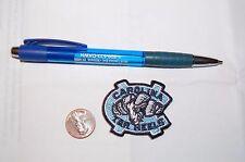 "North Carolina Tar Heels 1 3/4"" Patch 2005-2014 Alternate Logo College"