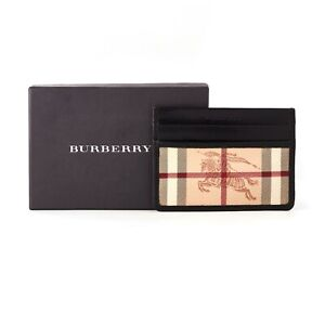 Burberry Card Holder Wallet with Iconic Horse Emblem | RRP £245 Limited Edition
