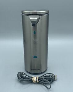 SimpleHuman Touch-Free Rechargeable Sensor Liquid Soap Pump Dispenser 9oz USED