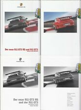 Porsche 911 GT3 RS 997   Prospekt  Brochure  + Preisliste   07  - 2009