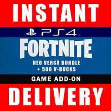 Fortnite Neo Versa Bundle Skin Code + 500 V Bucks PS4 EU - Instant Dispatch 24/7