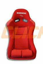 BRIDE VIOS RED GRADATION FRP BUCKET SEAT PAIR LONG SIDE MOUNTS SLIDERS JDM