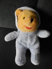 PM doudou peluche Winnie l'ourson combinaison pyjama bleu DISNEY NICOTOY 21cm